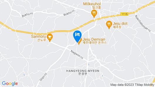 Jeju Aebanhada Map