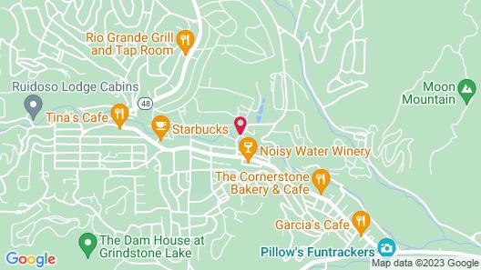 Ruidoso River Resort Map