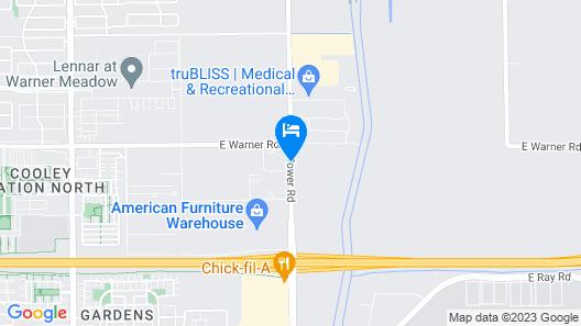 Best Western Legacy Inn & Suites Map