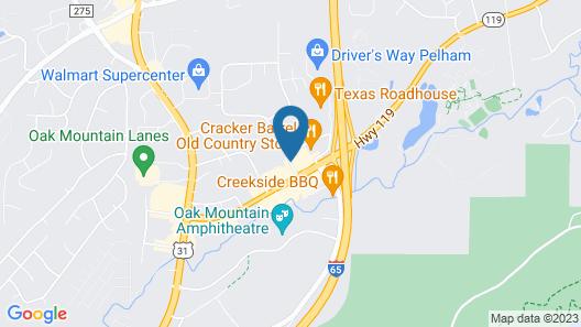 Quality Inn Pelham I-65 exit 246 Map