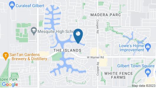 Edgewater 2 Bedroom Townhouse Map