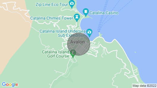 Beautiful Rental in the Heart of Avalon Map