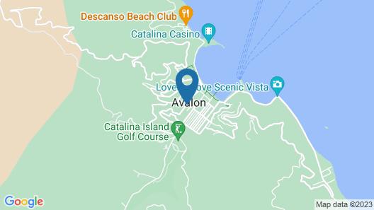 Hotel St. Lauren Map