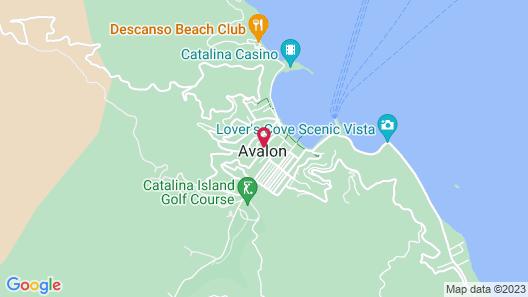 Casa Mariquita Hotel Map