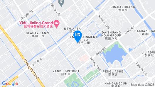 Golden Eagle Summit Hotel Yancheng Map