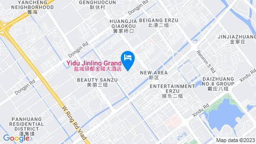 Yidu Jinling Grand Hotel Yancheng Map
