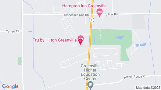 Tru By Hilton Greenville Map