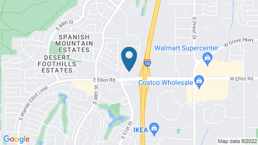 Quality Inn Phoenix Airport Map
