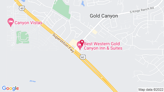 Best Western Gold Canyon Inn & Suites Map