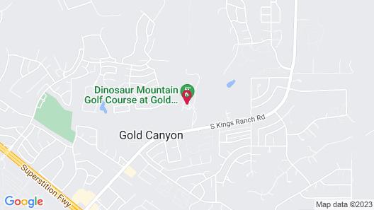 Gold Canyon Golf Resort & Spa Map