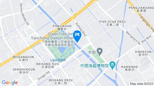 GreenTree Inn Yancheng Station Hotel Map