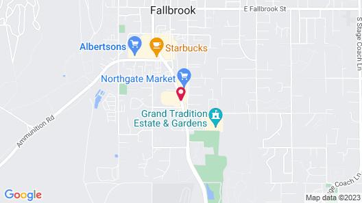 Fallbrook Country Inn Map