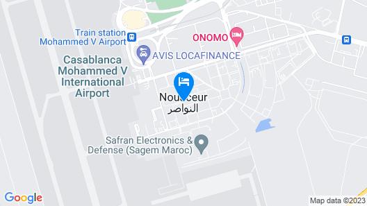 ONOMO Hotel Casablanca Airport Map