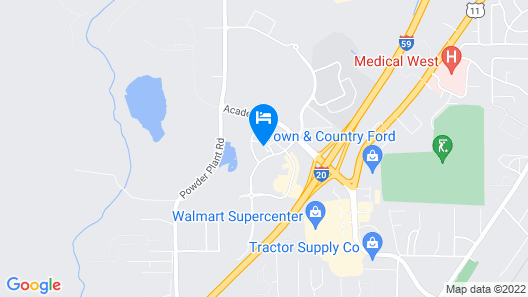Red Roof Inn & Suites Bessemer Map