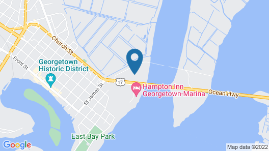 Baymont by Wyndham Georgetown/Near Georgetown Marina Map
