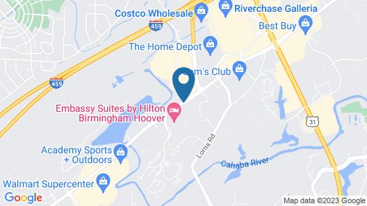 Hyatt Place Birmingham/Hoover Map