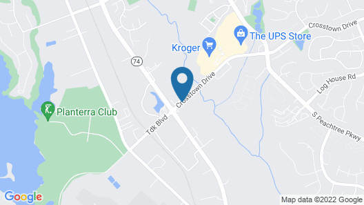 Days Inn & Suites by Wyndham Peachtree City Map