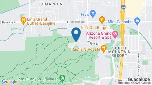 Raintree At Worldmark Phoenix South Mountain Preserve Map