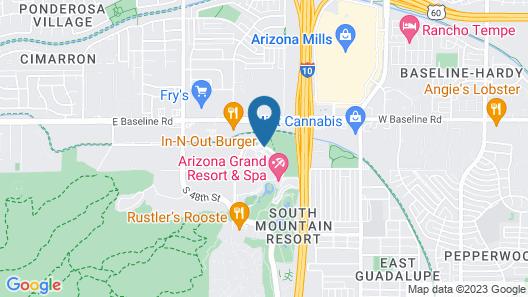 Arizona Grand Resort & Spa Map