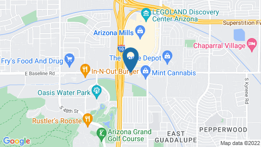 Ramada by Wyndham Tempe/At Arizona Mills Mall Map