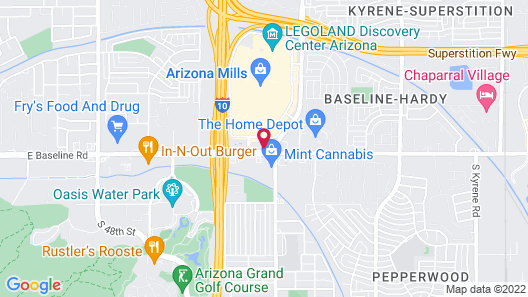 Holiday Inn Express & Suites Tempe, an IHG Hotel Map