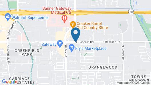 Staybridge Suites Phoenix East - Gilbert, an IHG Hotel Map