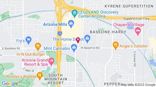 Sonesta ES Suites Tempe Map
