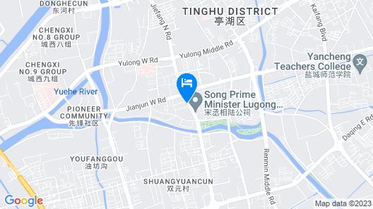 Holiday Inn Express Yancheng City Center Map