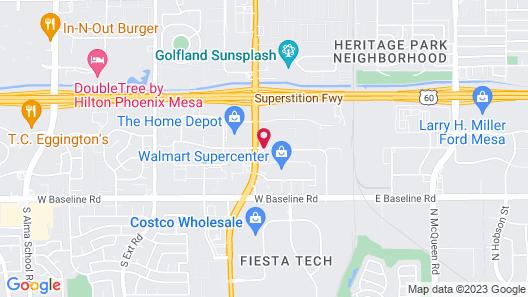 Days Hotel by Wyndham Mesa Near Phoenix Map