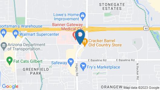 Residence Inn Phoenix Gilbert Map