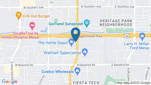 Holiday Inn Hotel & Suites Phoenix - Mesa / Chandler, an IHG Hotel Map