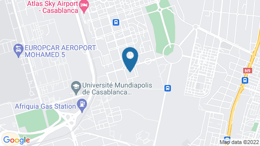 Luxurious Apartment in Nouaceur Near Casablanca Airport Map