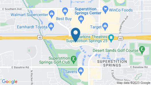 La Quinta Inn & Suites by Wyndham Mesa Superstition Springs Map