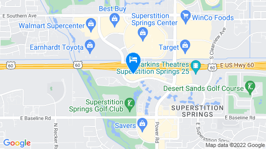 La Quinta Inn & Suites by Wyndham Mesa Superstition Springs Map