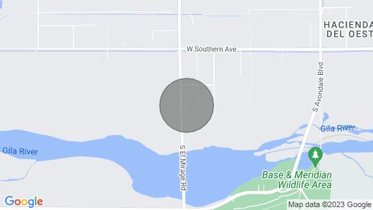 1-Acre Farmhouse - 2 Miles to Phoenix Raceway Map