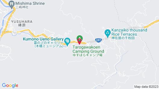 Kumo no Ueno Hotel Map