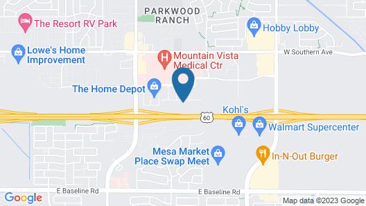 Residence Inn by Marriott Phoenix Mesa East Map