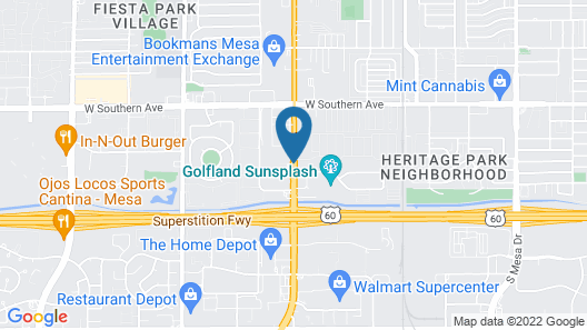 American Inn and Suites Map