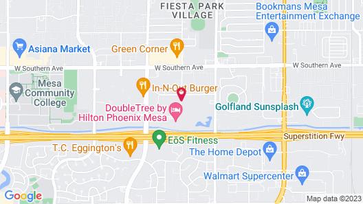 Mk Hotels Mesa Map