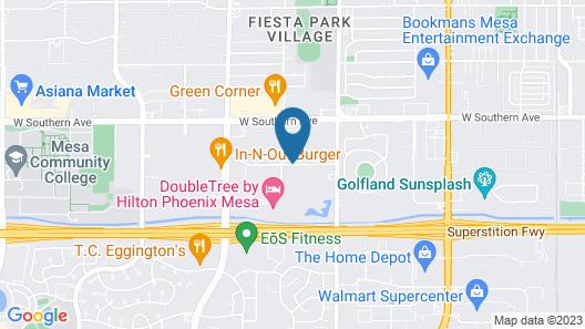 La Quinta Inn & Suites by Wyndham Phoenix Mesa West Map