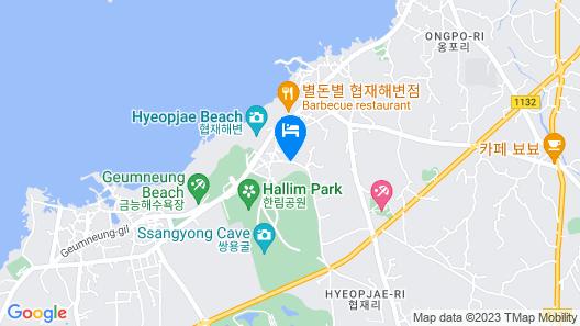 Jeju CoCo-Pension Co Map