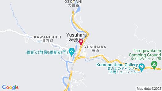 Kumo no Ueno Hotel Annex Marche Yusuhara Map