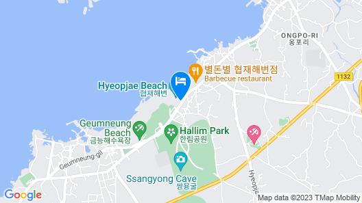 Jeju Haejodae Map