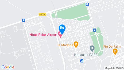 Atlas Sky Airport Map