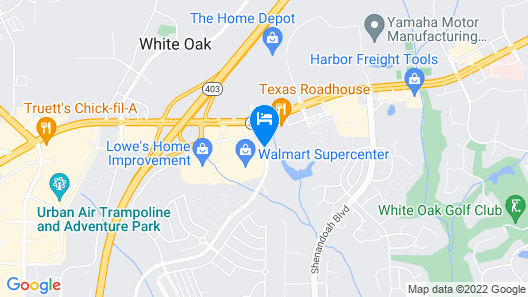 Springhill Suites By Marriott Newnan Map