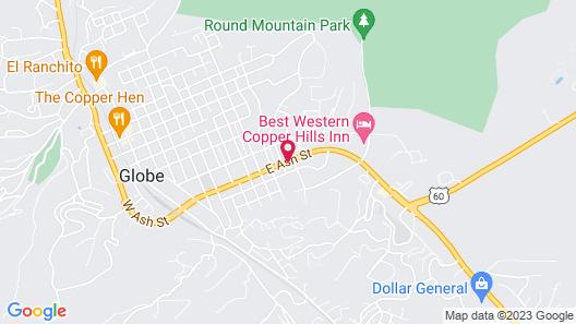 El Rey Motel Map