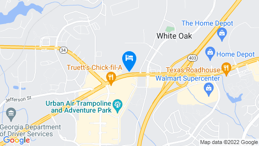Best Western Shenandoah Inn Map
