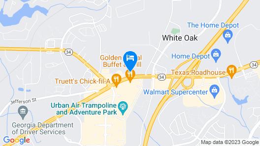 La Quinta Inn & Suites by Wyndham Atlanta South - Newnan Map