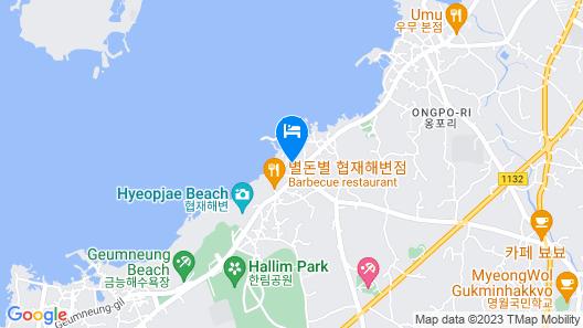 Hyeopjae Jeju Guesthouse - Hostel Map