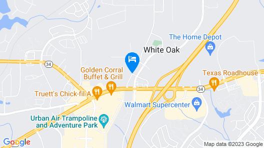 Holiday Inn Express Atlanta SW - Newnan Map